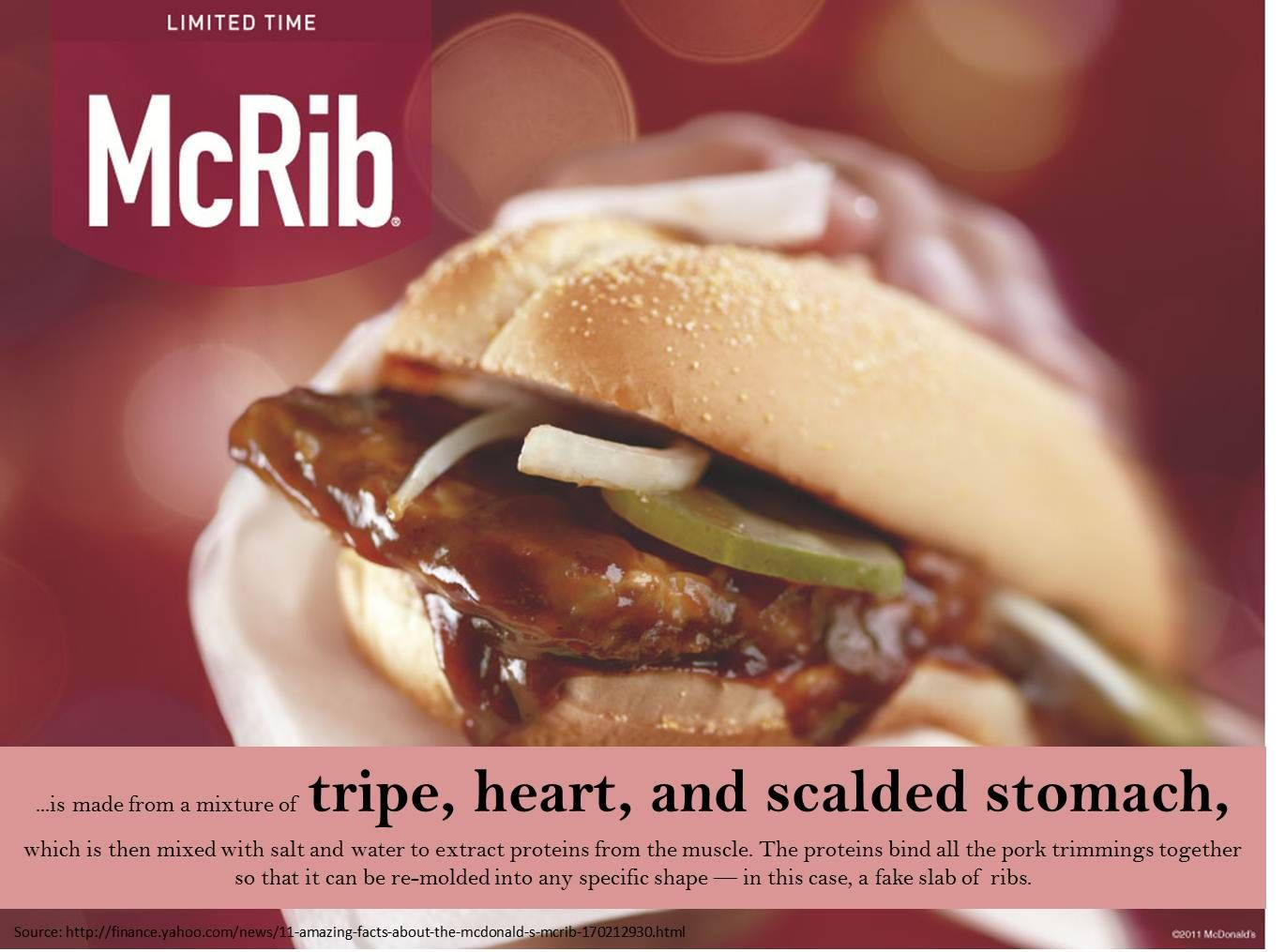 11 amazing facts about the mcdonald s mcrib pay attention