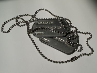 9dc02b2e9208 How to Make Your Own Army Dog Tags | Signage - Hang Tags | Dog tags ...