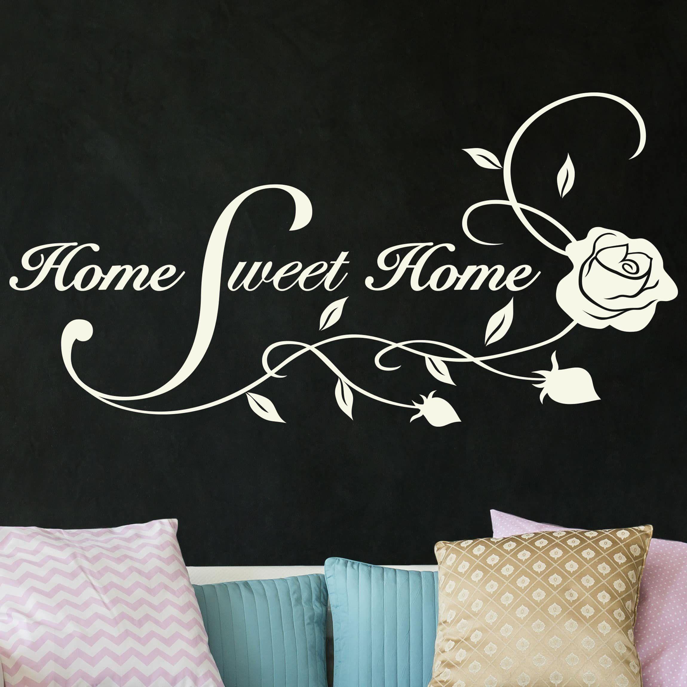 Astounding Wandtattoo Home Sweet Home Dekoration Von Bilderwelten »home Home« Jetzt Bestellen Unter: Https://moebel