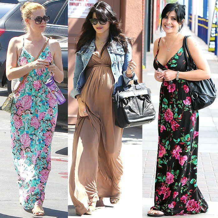 Petite celebrities benefitting from the height-enhancing length of ...
