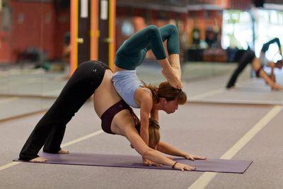 trust strength balance and fun  scorpion on downward
