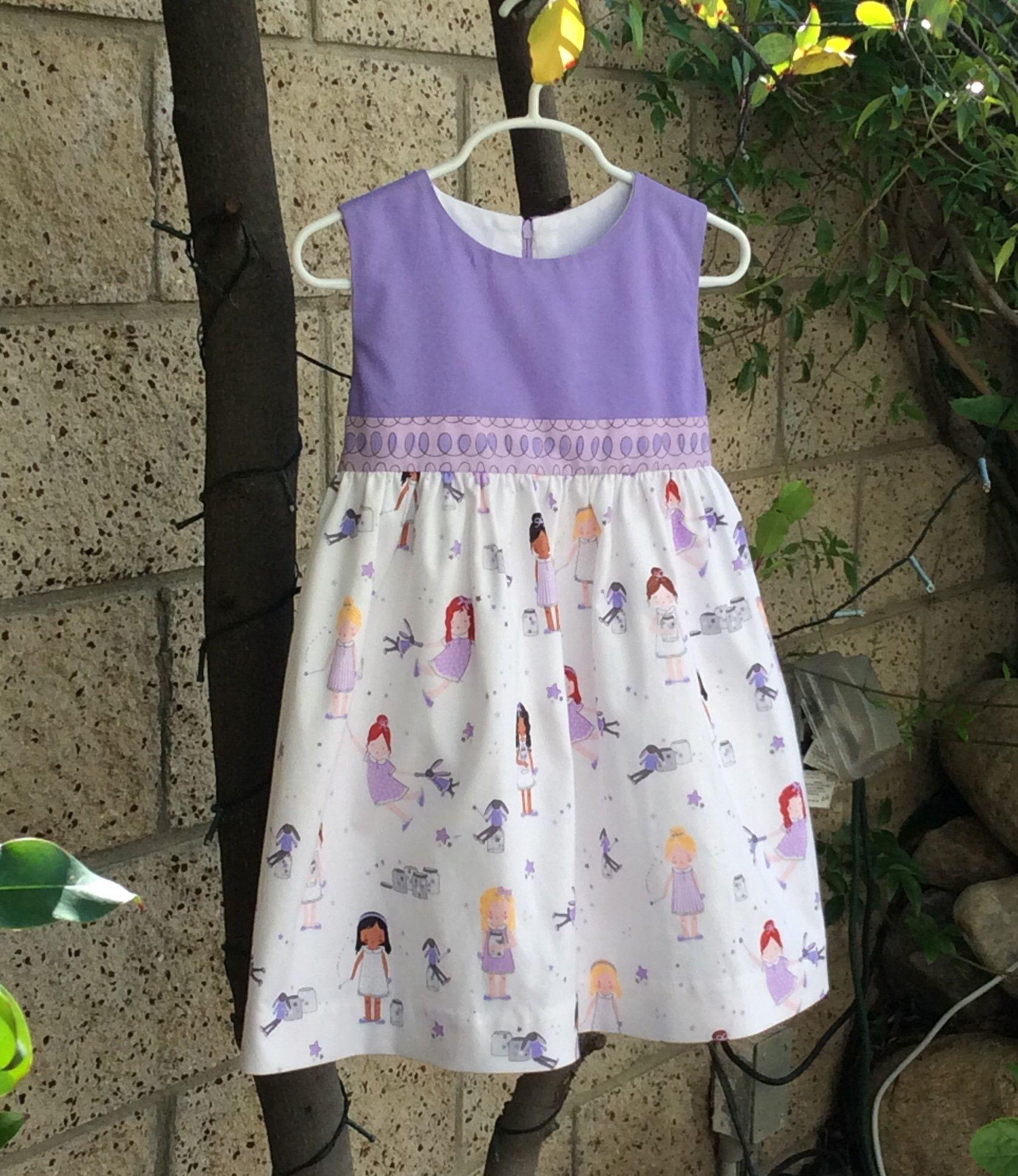 Girls Party Birthday Dress Sprinkle Little Stars Dolls Etsy Girls Cotton Dresses Kids Designer Dresses Dresses Kids Girl [ 1936 x 1677 Pixel ]