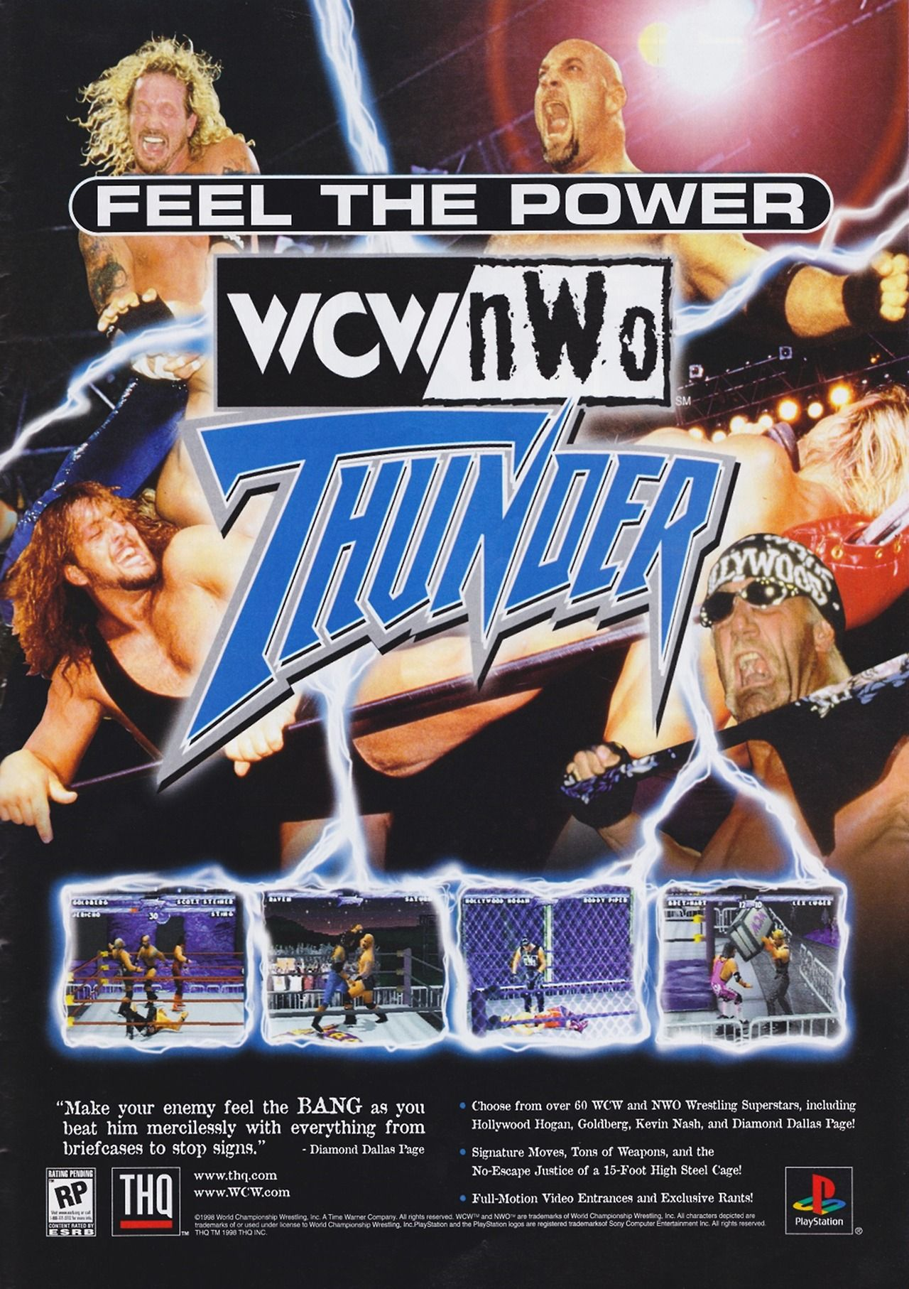 Wcw Nwo Thunder Classic Video Games Wrestling Videos Video Game Music