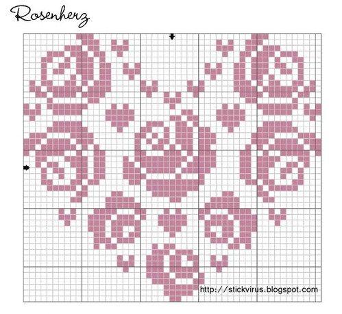 free cross stitch chart kreuzstich stickvorlagen pinterest kreuzstich b gelperlen und muster. Black Bedroom Furniture Sets. Home Design Ideas