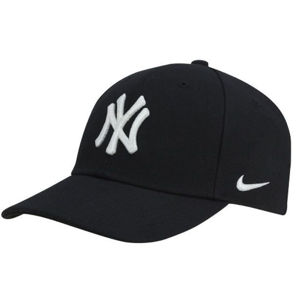 590bde115f7 Men s New York Yankees Nike Navy Wool Classic Adjustable Performance ...
