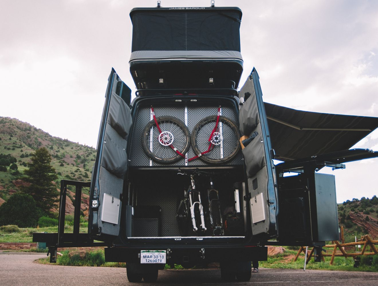 This Custom Camper Van Can Sleep A Family Of 6 Custom Camper Vans Custom Campers Camper Van