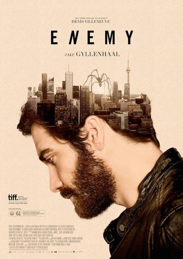 Enemy / The Best Movie Posters of 2014 #movie #poster