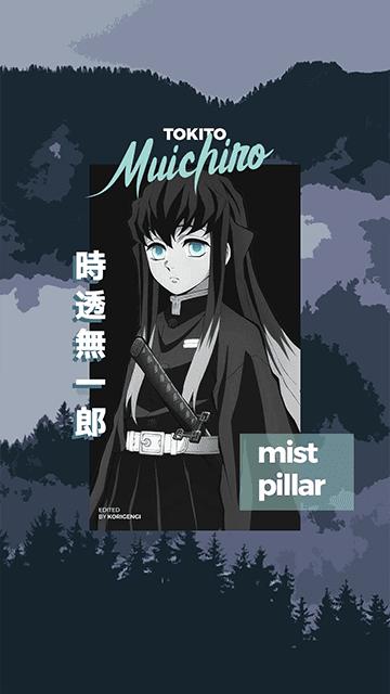 Tokito Muichiro - Kimetsu no Yaiba Wallpaper