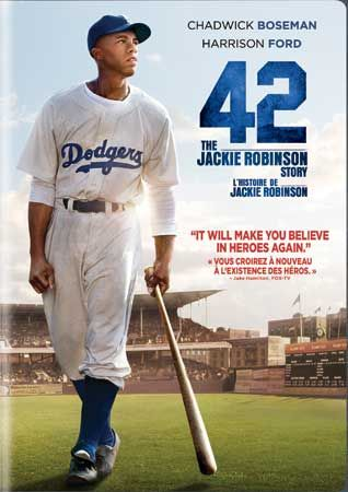 42 - The Jackie Robinson Story with Chadwick Boseman, Nicole Beharie and Harrison Ford