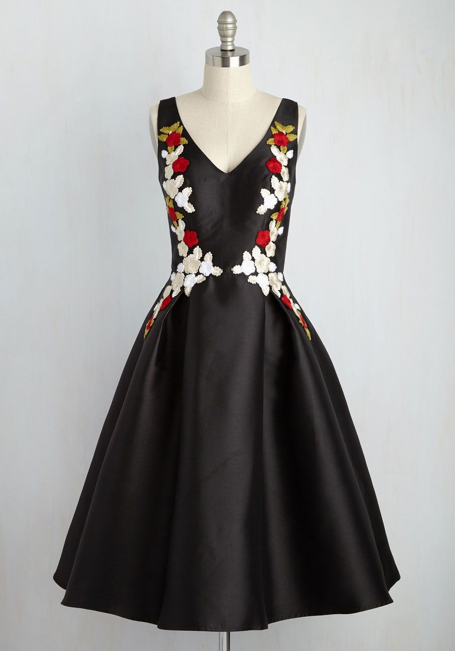 Ladies and Diligence Dress in Red Petals | Party Dresses & Style ...