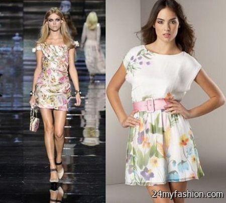 Fashion dresses for women 2018 summer