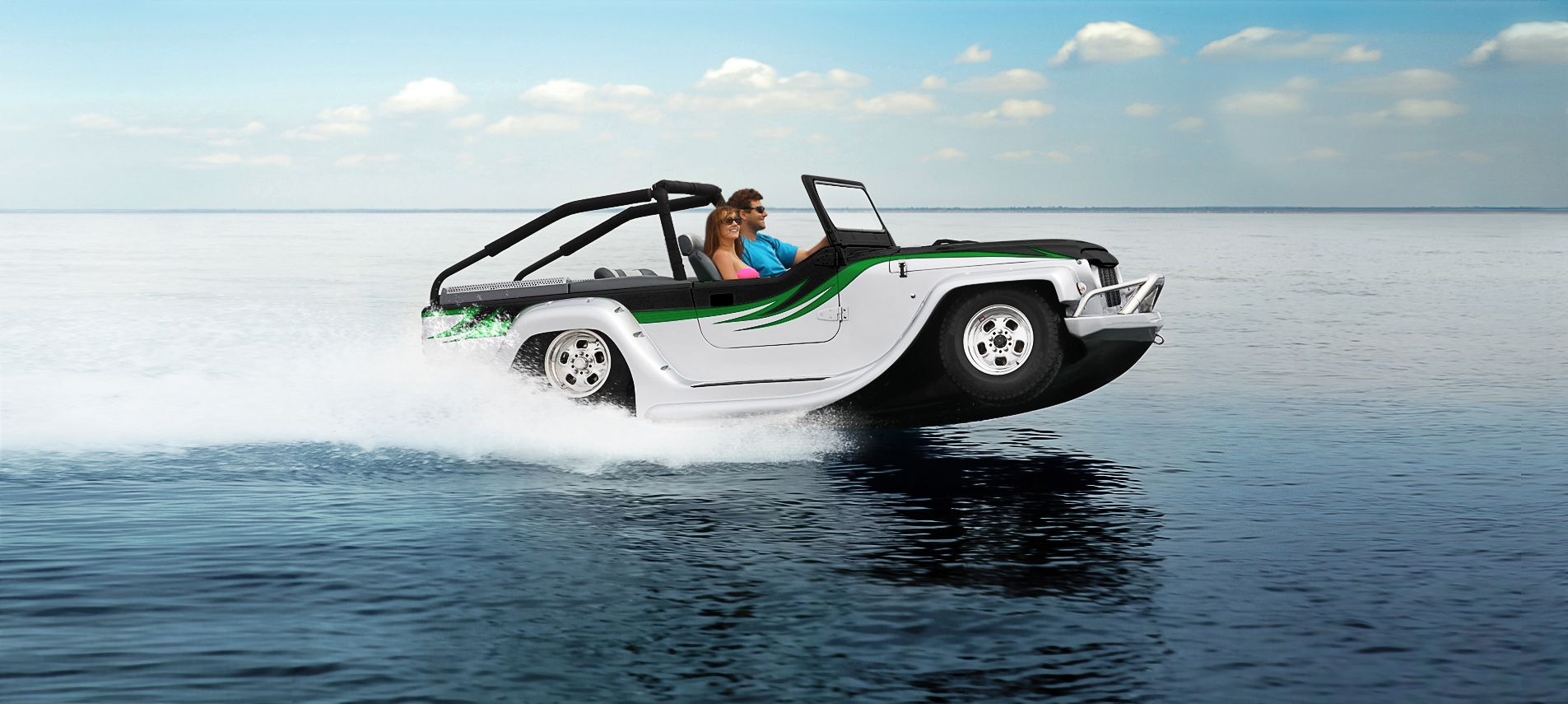 Jeep Watercar! Yep, that's about right. | My Other Car is A ...