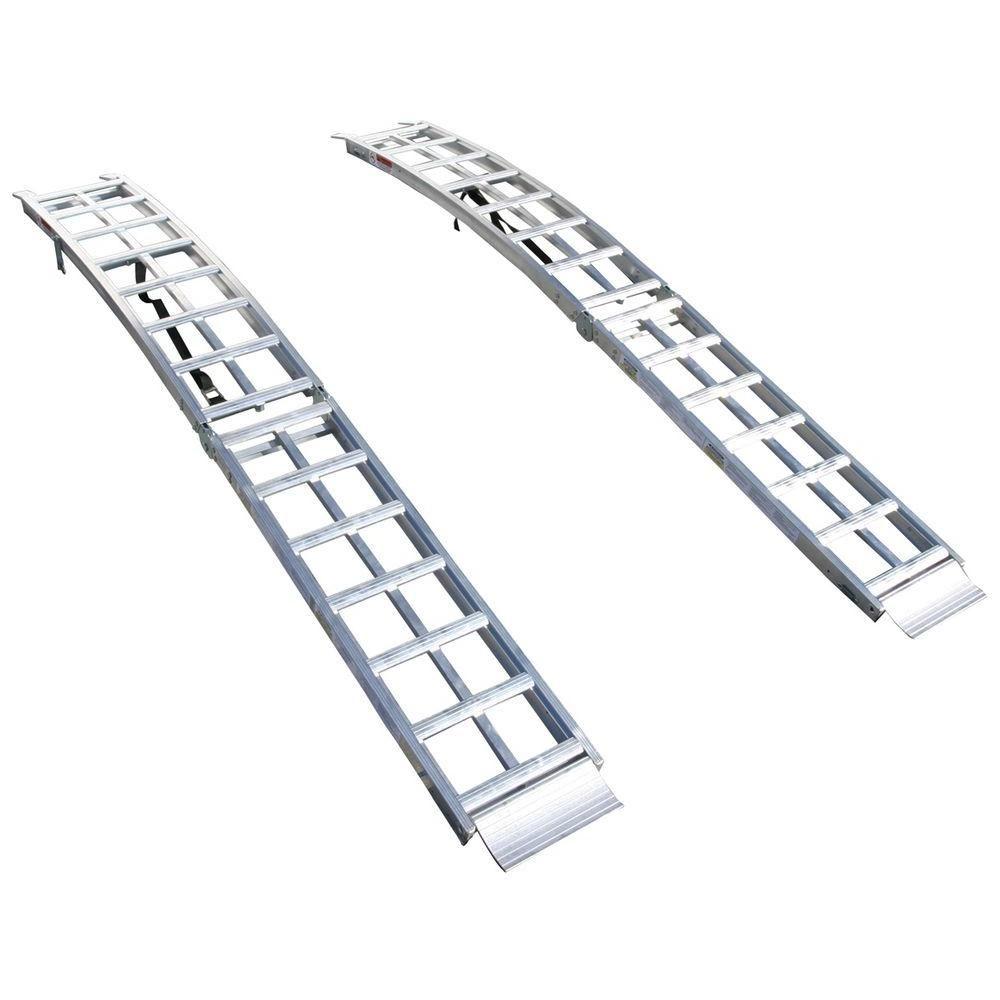 Aluminum Folding Ramps >> Aluminum Folding Arched Ramp Truck Ramps Loading Ramps