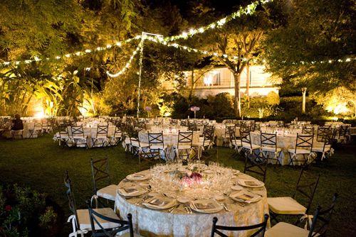 así se verá de chido | iuminación | bodas de noche al aire libre