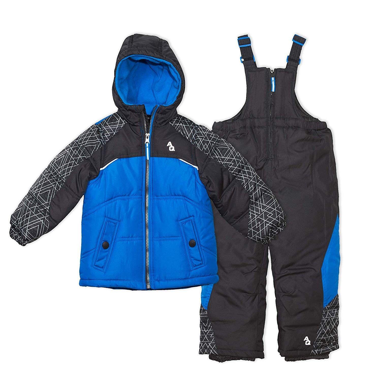 Feidoog Winter Hooded Duck Down Snowsuit,Baby Girls Boys Warm Winter Light Romper Snowsuit Zipper One-Piece Suit