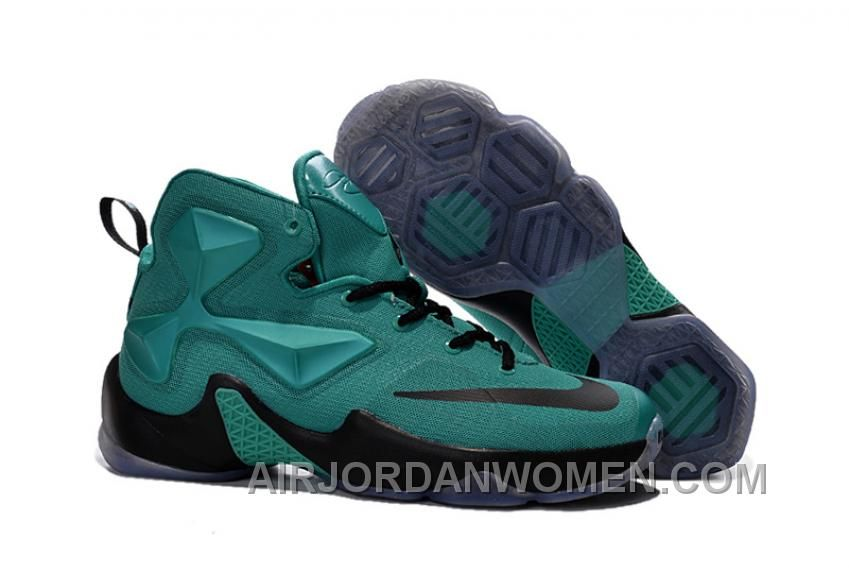 Nike LeBron 13 Green Black Grade School Shoes Copuon Code DeteQ ... e29bb95961