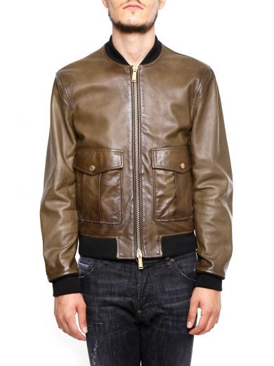 bfc7e049ffe DSQUARED2 Leather Jacket.  dsquared2  cloth  coats-jackets