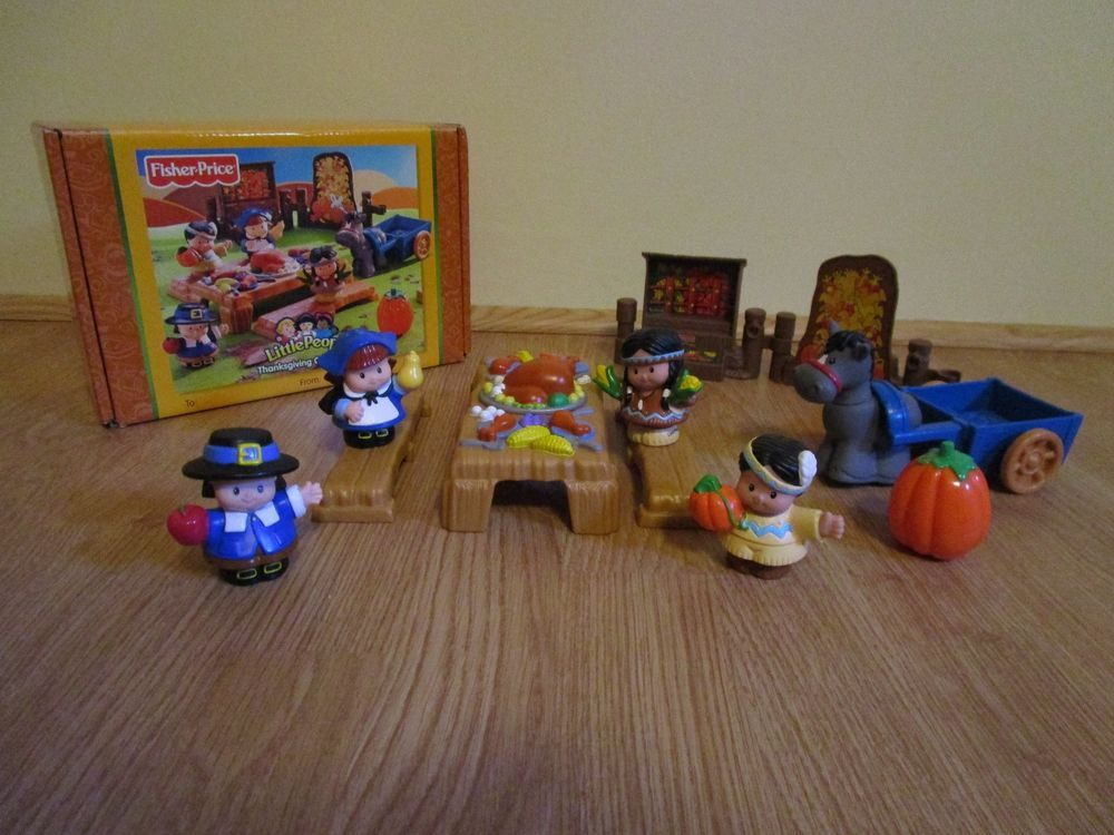 Fisher Price Little People Thanksgiving Set Original. Complete ...