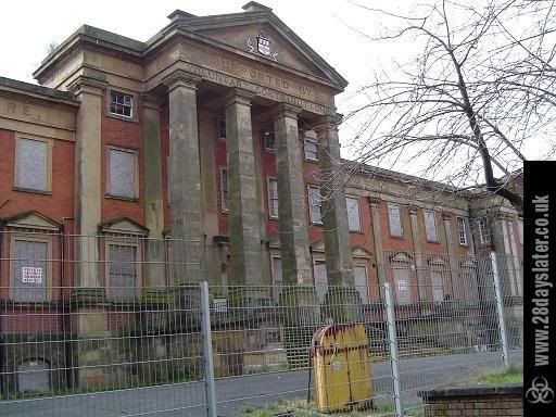 Wolverhampton Royal NHS Hospital In England The Original 1840s Building Including