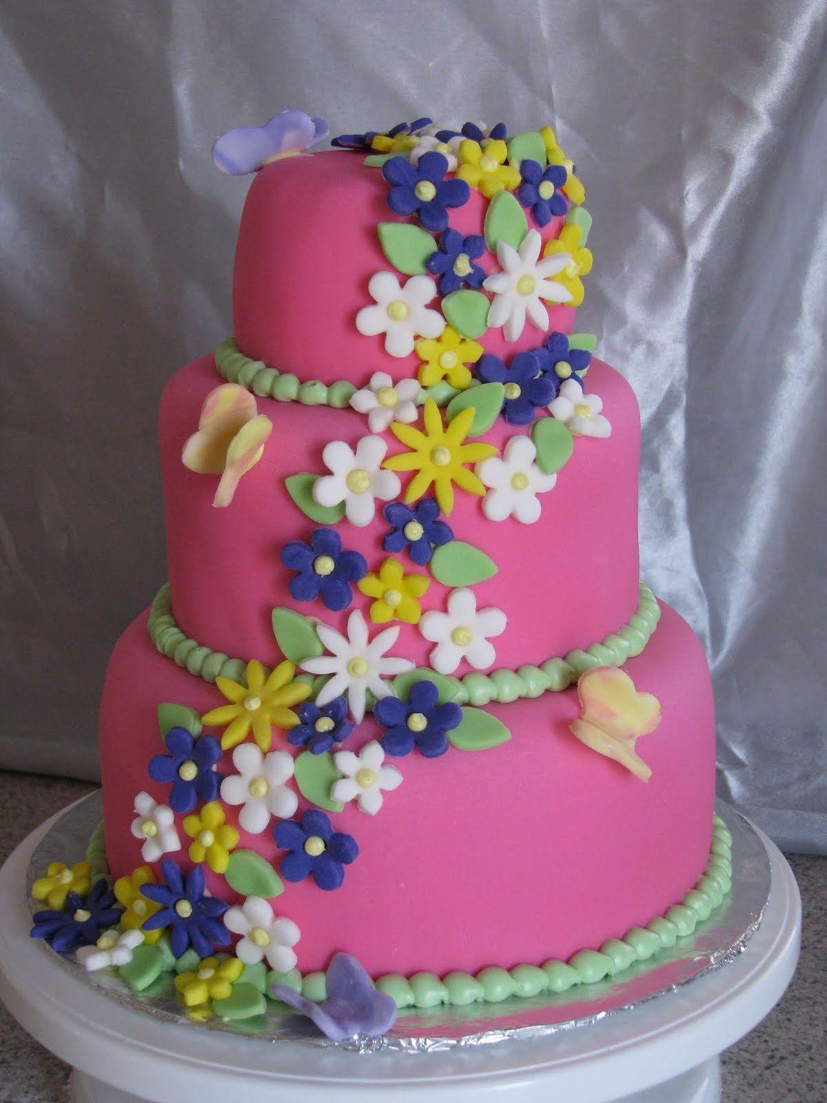 Girls Birthday Cakes 1st Birthday Cakes for Girls