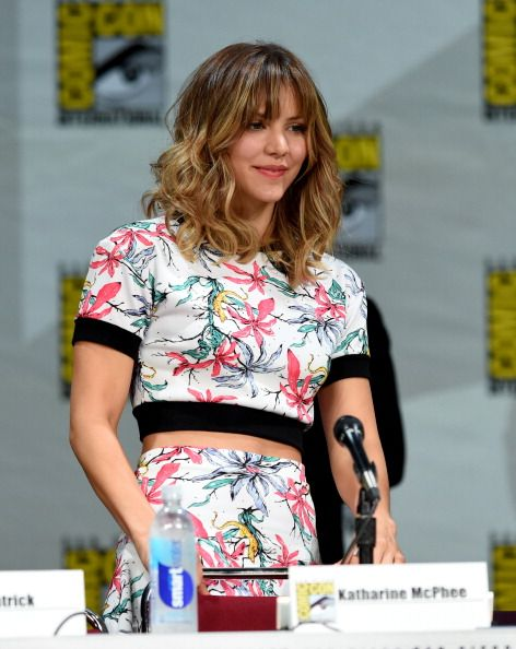 Katharine McPhee attends CBS' 'Scorpion' exclusive premiere screening & panel during Comic-Con International 2014 at the San Diego Convention Center on July 24, 2014 in San Diego, California.