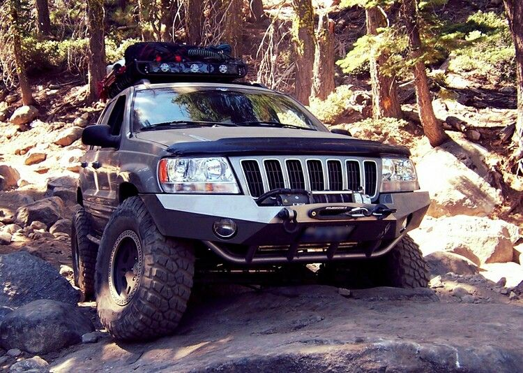 Custom Wj Grand Cherokee Front Winch Bumper From Frantzdesignworks