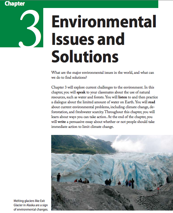 chapter environmental issues and solutions brainstorm and   chapter environmental issues and solutions brainstorm and writing activities introduce students to thinking