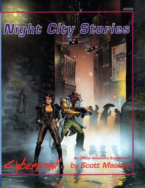 Cyberpunk: Night City Stories ~ Atlas Games (1992)