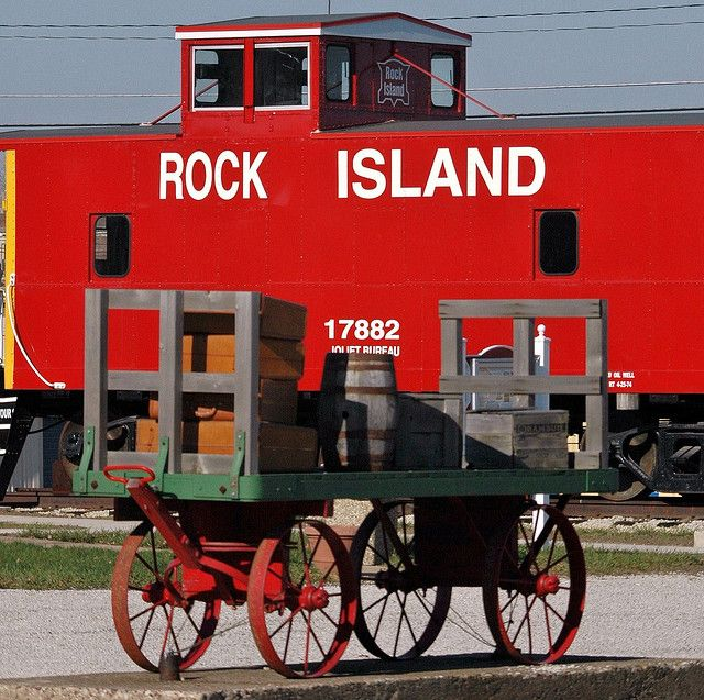 Well The Rock Island Line Is A Mighty Fine Line Rock Island Rock Island Railroad Train Pictures