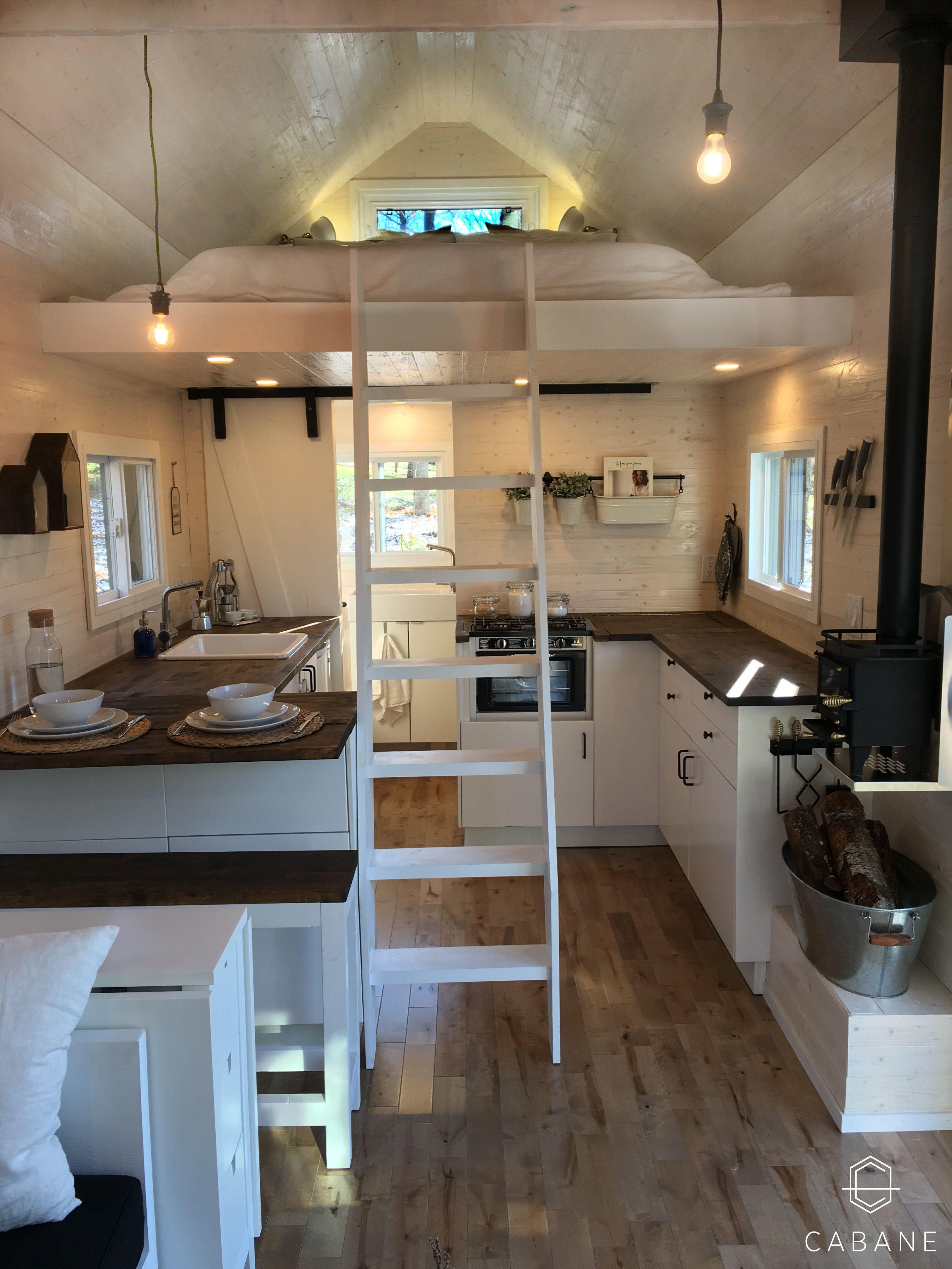 Mini-Maison CABANE - Intérieur / Tiny House CABANE - Interior ...
