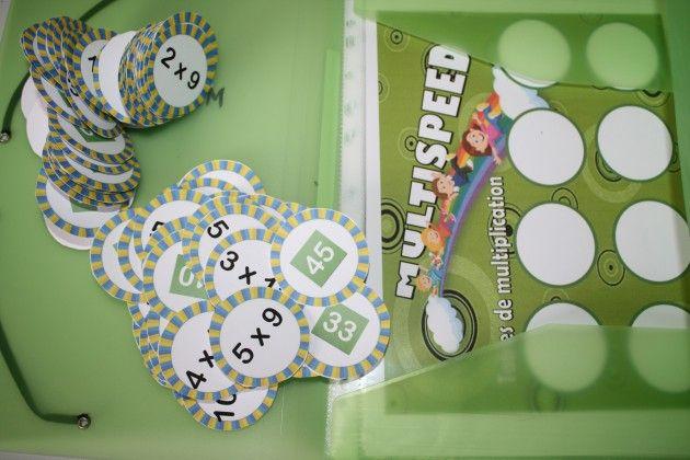 Jeu tables de multiplication multispeed pinteres - Jeu table de multiplication ce2 ...