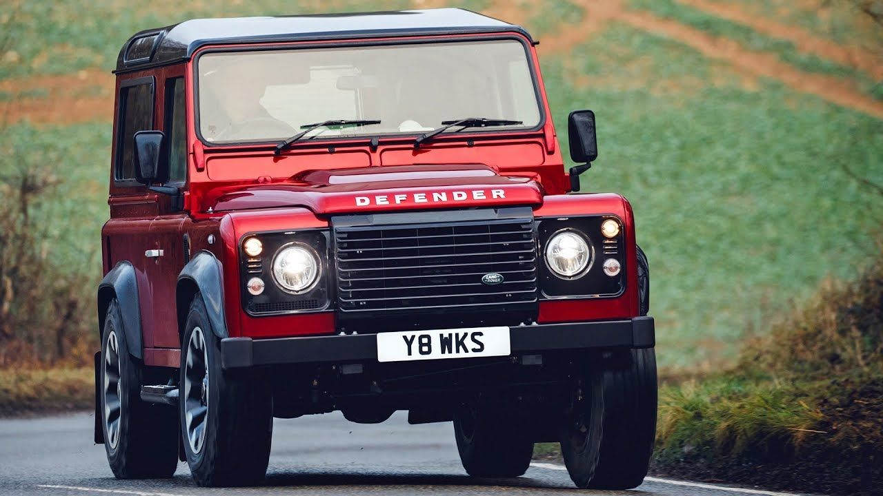 Land Rover Defender V8 2018 Features Design Driving Youtube