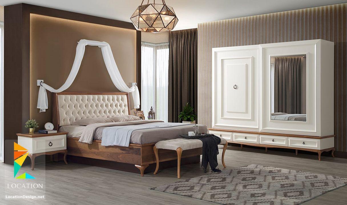 اشكال غرف نوم مودرن من أحدث موديلات غرف النوم الحديثة Furniture Simple Bedroom Design Armchair Furniture