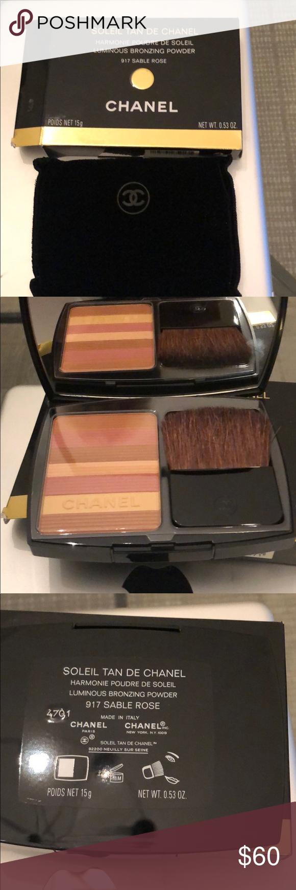 5c42b091 Luminous bronzing powder Sable beige CHANEL Makeup Bronzer | My Posh ...