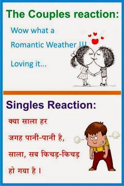 Rainy Day Jokes Hindi : rainy, jokes, hindi, Funny, (Barish), Jokes, Hindi, बारिश, जोक्स, JokeScoff, Inspirational, Quotes, Students,, Being, Alone,, Motivational