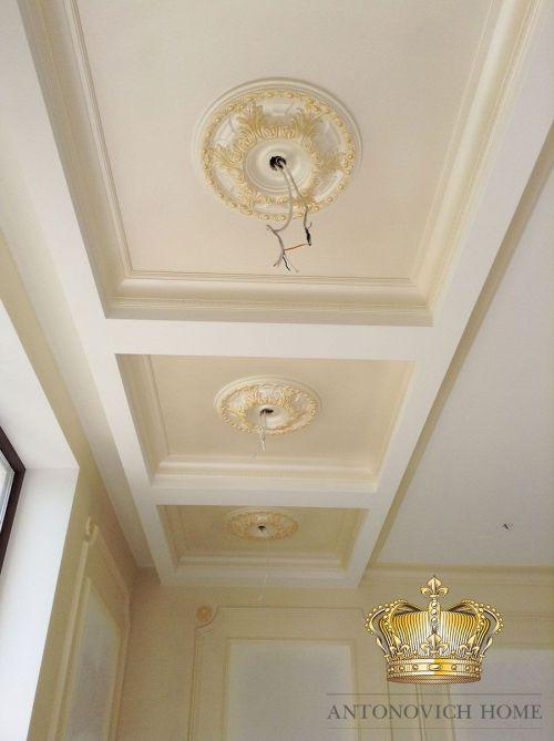 классические потолки из гипсокартона фото - Поиск в Google ...