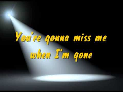 Pitch Perfect When I M Gone Cups Song Karaoke Lyrics Cup Song Karaoke Pitch Perfect