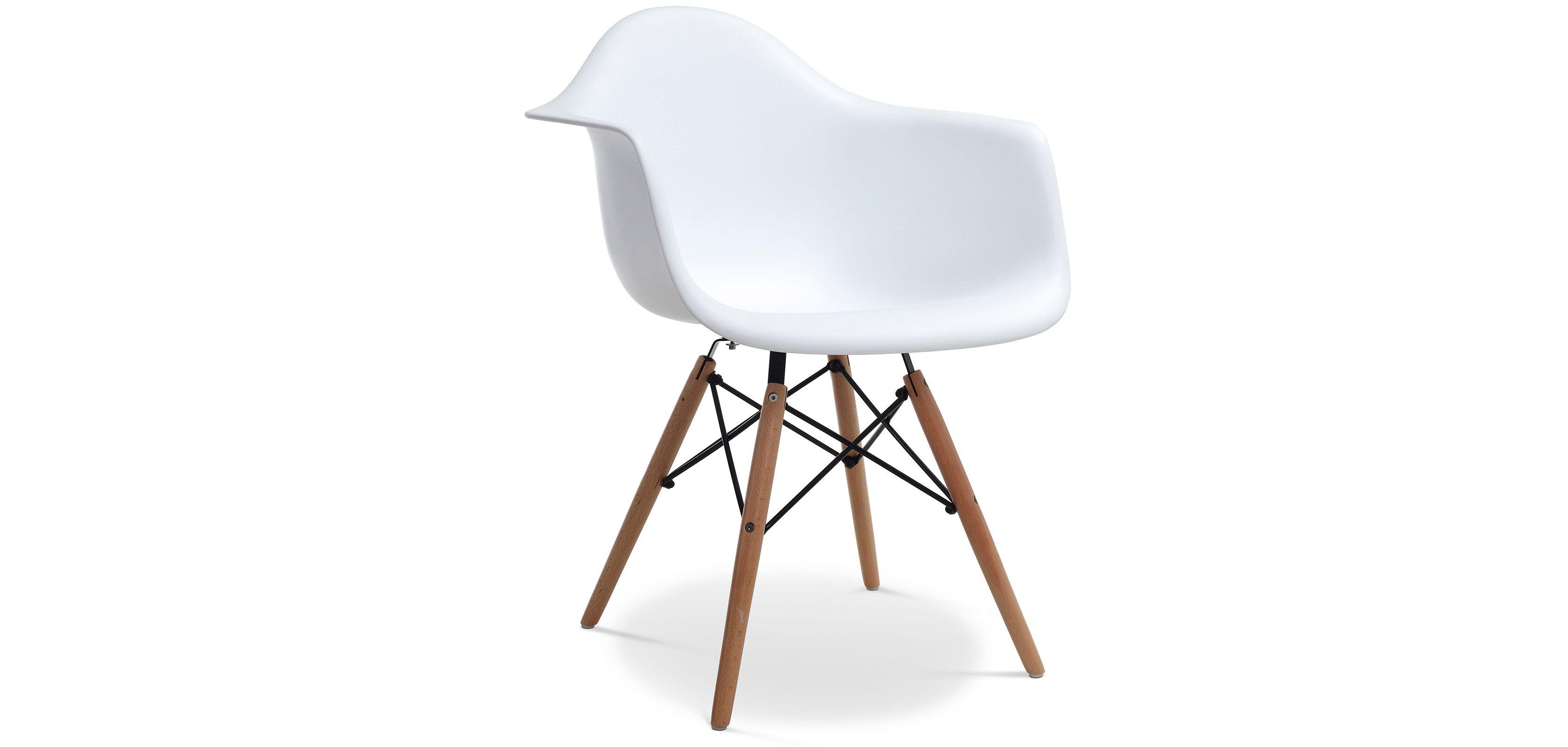 Chaise Daw Charles Eames Style Polypropylene Matt Pas Cher Idee Bureau Eames Chaise