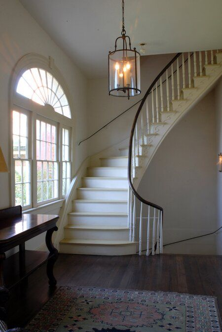 Soniat House staircase in New Orleans