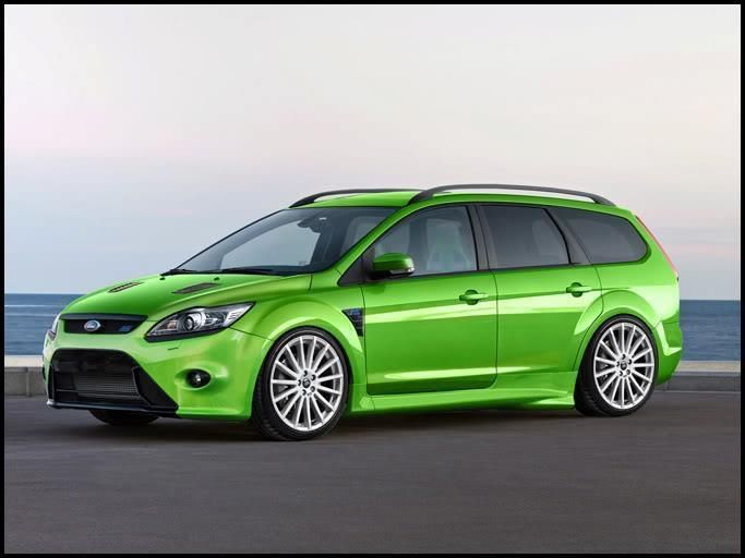 Rs St Ford Focus Rs In Combi Wagon Version Ford