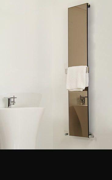 Glass & Mirror Towel Radiators  Bedroom Ideas  Pinterest  Towel Captivating Designer Heated Towel Rails For Bathrooms Inspiration