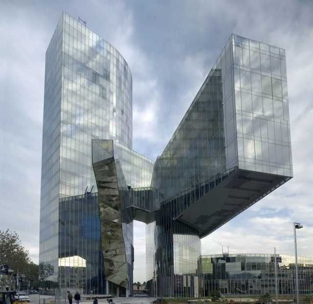 Natural Looking Buildings : World s weirdest buildings gas natural headquarters