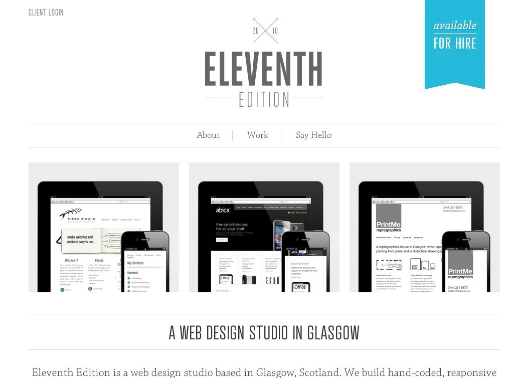 site designed on skeleton framework - responsive wordpress option ...