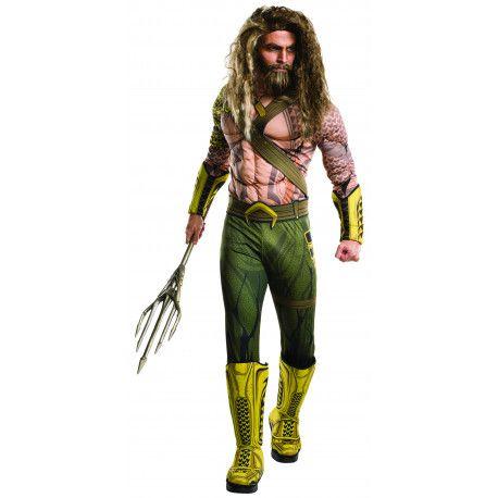 Disfraz de Aquaman para Hombre Liga de la Justicia  Batman  Aquaman   Costume  DC  Comics a48b1dead5f