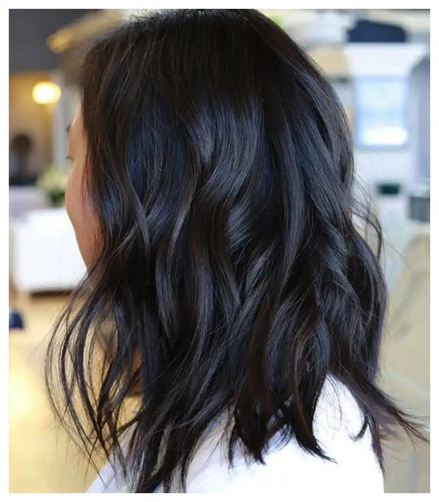 Navy Blue Lowlights Hair Color For Women Dark Hair With Lowlights Hair Color 2016