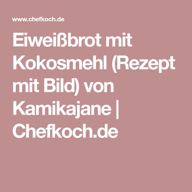 Eiweißbrot mit Kokosmehl (Rezept mit Bild) von Kamikajane | Chefkoch.de