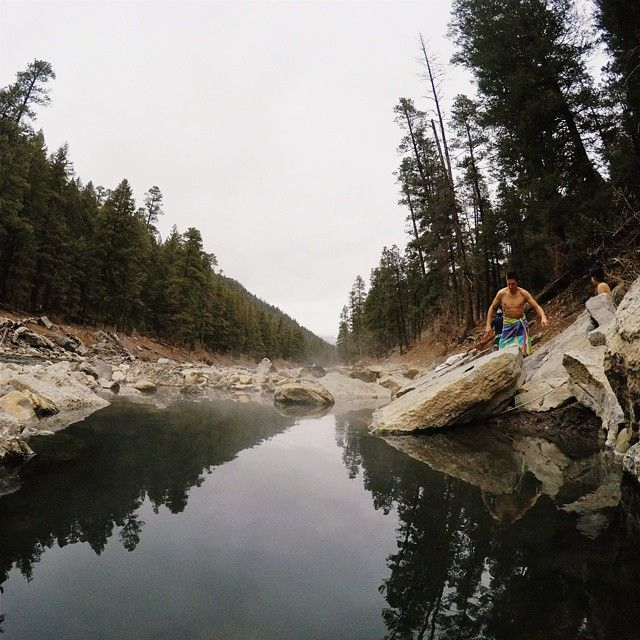 Waterfall Hikes Near Denver Colorado: Colorado Hot Springs In The Middle Of The Mountains