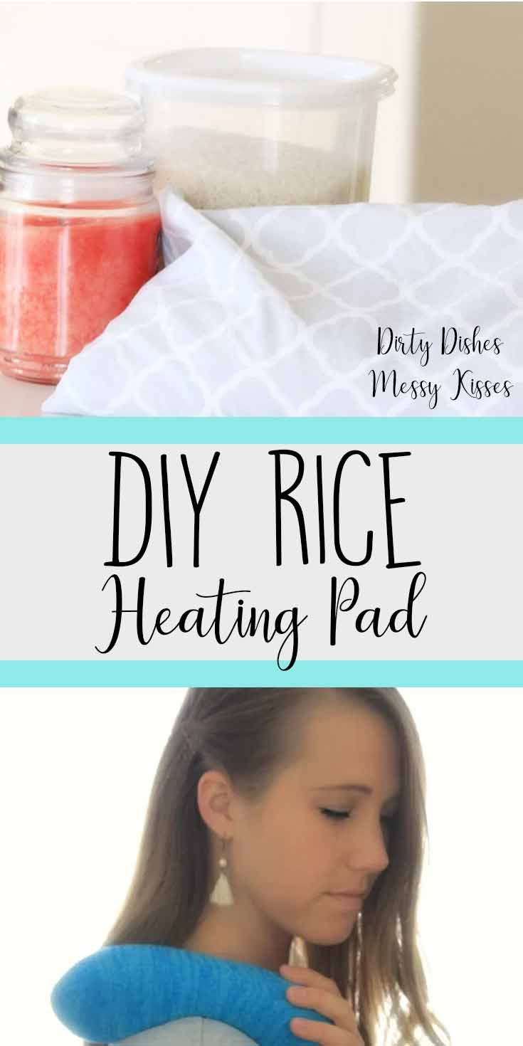 Diy rice heating pad rice heating pads diy heating pad