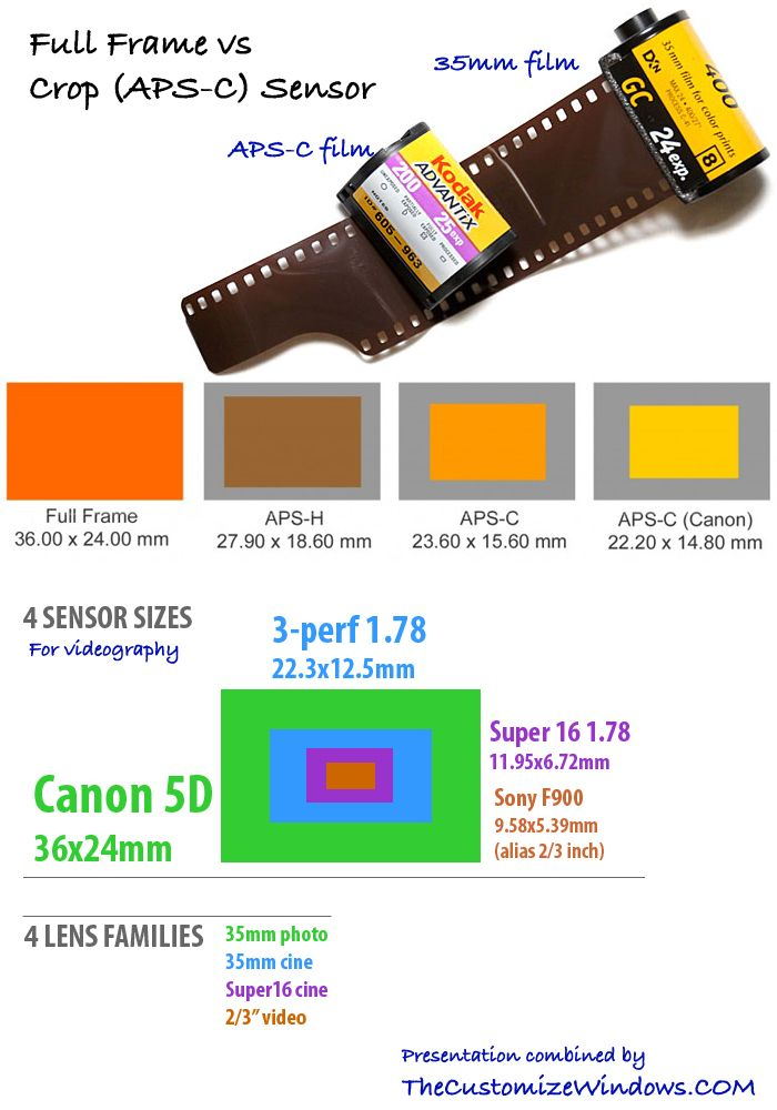 Full Frame vs Crop (APS-C) : Image Quality Difference For Sensor ...