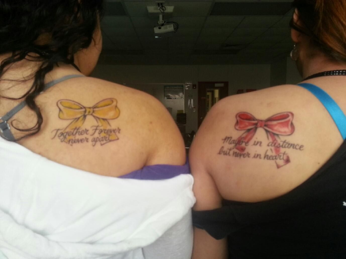 Pin always together forever tattoo picture at for Together forever tattoos